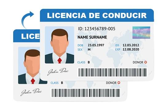 duplicar licencia de conducir